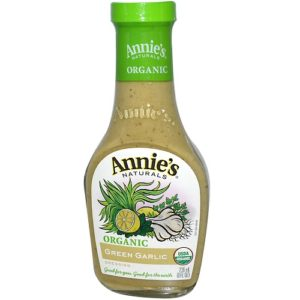 Annie's Naturals Org Green Garlic Dressing Vinegar Free (6x8 Oz)