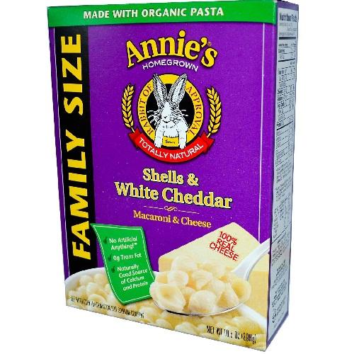 Annie's Shells & White Cheddar Family Size (6x10.5 Oz)