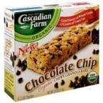 Cascadian Farms Chocolate Chip Granola Bar (12x7.4 Oz)