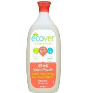 Ecover Liquid, Pink Geranium (6x25 OZ)