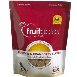 Fruitables Pumpkin & Cranberry Mix Dog Treats (8x7 Oz)