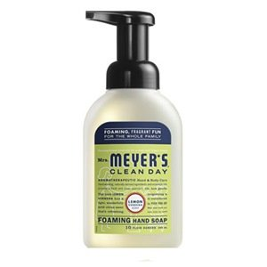 Mrs Meyers Clean Day Foaming, Lemon Verbena (6x10 OZ)