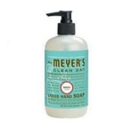 Meyers Basil Liquid Hand Soap (6x12.5 Oz)
