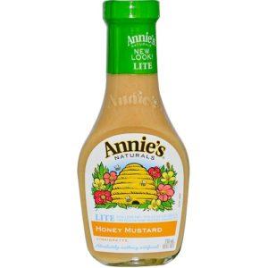 Annie's Naturals Honey Mustard Vinaigrette Lite (6x16 Oz)