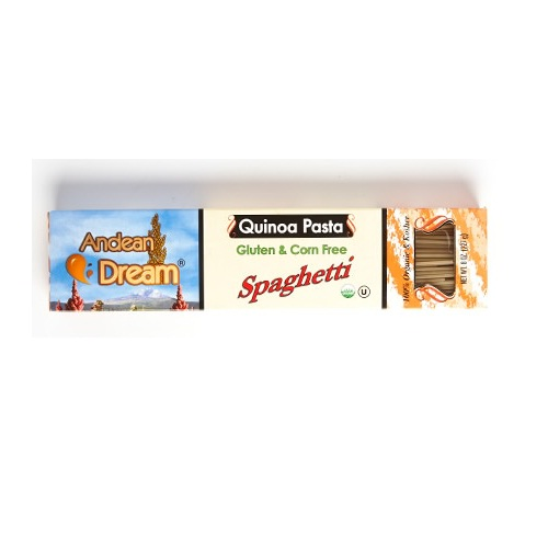 Andean Dream Spaghetti Quinoa Pasta Gluten Free (12x8 Oz)