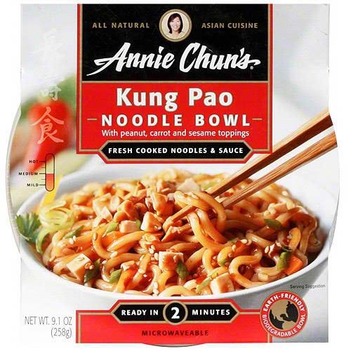Annie Chun's Kung Pao Noodle Bowl (6x9.1 Oz)