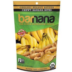 Barnana Banana Bites, Peanut Butter (12x3.5 OZ)