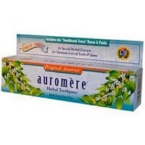 Auromere Licorice Herbal Toothpaste (12x4.16 Oz)