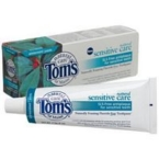 Tom's Of Maine Sensitive Wintermint Fluoride Free Toothpaste (6x4 Oz)