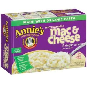 Annie's Homegrown Microwavable Macaroni & Cheese (6x10.7 Oz)