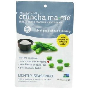 Cruncha Ma-Me Edamame Light Slt (8x0.7OZ )