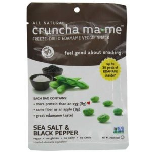 Cruncha Ma-Me Edamame SeaSalt/Pepper (8x0.7OZ )