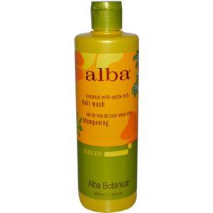 Alba Botanica Extra Rich Coconut Shampoo (1x12Oz)