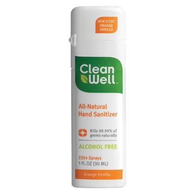 Cleanwell Orange Vanilla Hand Sanitizer (24x1 Oz)