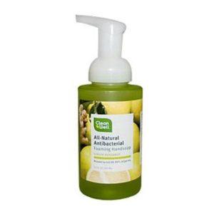 Cleanwell Ginger Bergamot Foam Hand Wash (1x9.5 Oz)