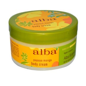 Alba Botanica Papaya Mango Body Cream (1x6.5 Oz)