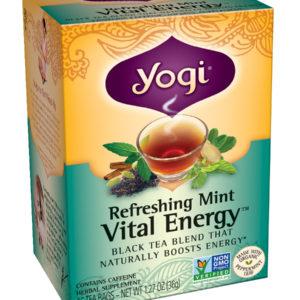 Yogi Organic Refreshing Mint Vital Energy (6x16 Bag)