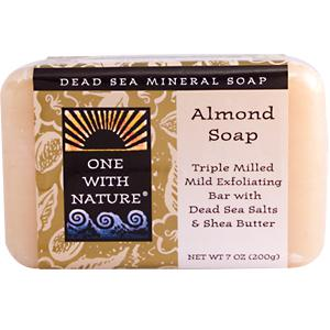One With Nature Almond Soap (7Oz)