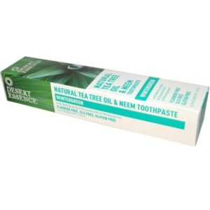 Desert Essence Tea Tree Neem Wintergreen Toothpaste (1x6.25 Oz)