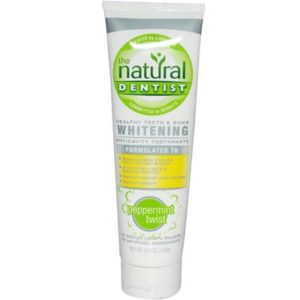 Natural Dentist Whitening Peppermint Twist Toothpaste (1x5 Oz)