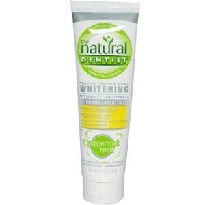Natural Dentist Whitening Peppermint Twist Toothpaste (1x5 Oz)
