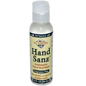 All Terrain Hand Sanitizer Fragrance Free (1x2 Oz)