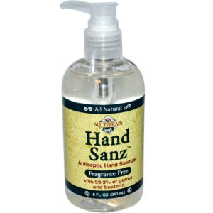 All Terrain Hand Sanitizer Fragrance Free (1x8 Oz)