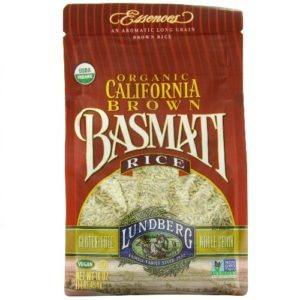 Lundberg Farms California Brown Basmati Rice (6x1 LB)