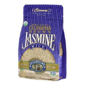 Lundberg Farms California Brown Jasmine Rice (6x1 LB)