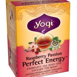 Yogi Raspberry Passion Perfect Energy Tea (6x16 Bag)