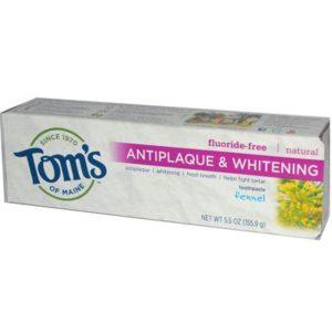 Tom's Of Maine Fennel, Tartar Control Whitening Toothpaste (6x5.5 Oz)