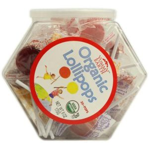 Yummy Earth Lollipop Personal Bin (10x5.6 Oz)