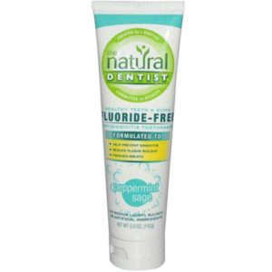Natural Dentist Peppermint Sage Toothpaste Fluoride Free (1x5 Oz)