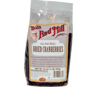 Bob's Red Mill Dried Cranberry (1x25LB )