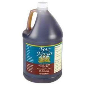 Four Monks Apple Cider Vinegar (4x128OZ )