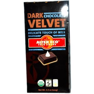 Alter Eco Chocolate Dark Velvet (12x2.82OZ )