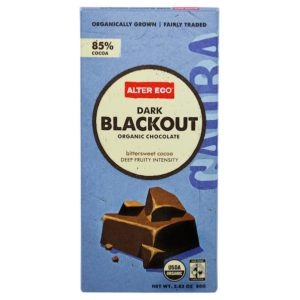 Alter Eco Dark Chocolate Blackout (12x2.82OZ )