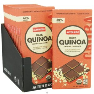 Alter Eco Chocolate Dark Quinoa (12x2.82OZ )