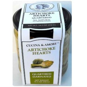 Cucina & Amore Artick Qtr Marinated (6x14.5OZ )