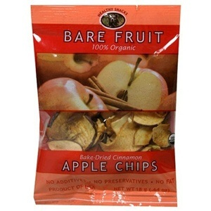 Bare Fruit Cinn Apple Chips (24x15GR )
