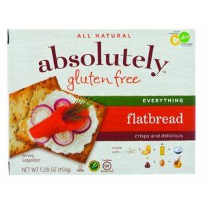 Absolutely Gluten Free Flatbrd Everything (12x5.29OZ )