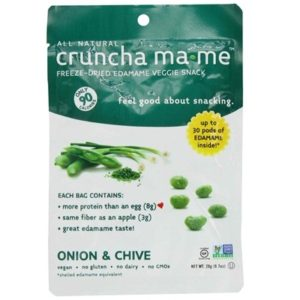 Cruncha Ma-Me Edamame On/Chive (8x0.7OZ )