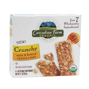 Cascadian Farm Corn Br Oat Honey (12x7.1OZ )
