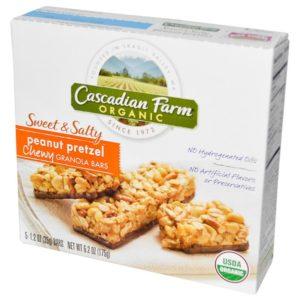 Cascadian Farm S&S Peanut Pretz (12x6.2OZ )
