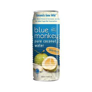Blue Monkey Coconut Water W/Plp (6x17.6OZ )
