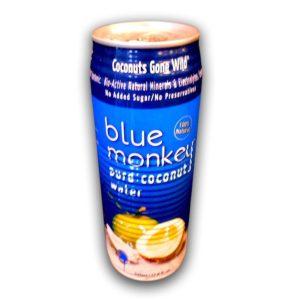 Blue Monkey Coconut Water No Pulp (24x17.6OZ )