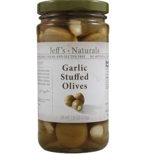 Jeff's Naturals Jalapeno Stfd Olives (6x7.5OZ )