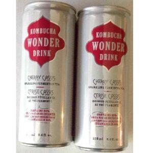 Kombucha Wonder Drink Chry Cassis (24x8.4OZ )