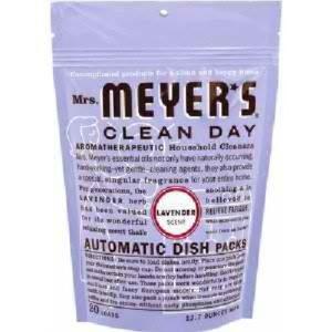 Mrs Meyers Auto Dshwsh Pks Lavendar (6x12.7OZ )