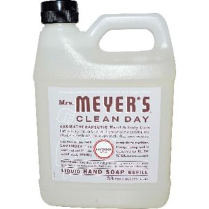 Mrs Meyers Liquid Hand Sp Refil Lavendar (6x33OZ )